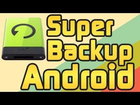 دانلود Super Backup Pro SMS.Contacts 2.0.06 برنامه ای قوی برای بکاپ گیری در سیستم عامل آندروید
