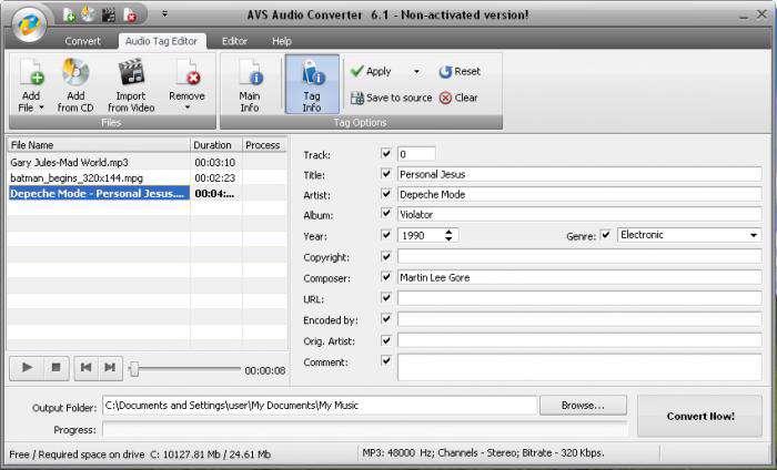 دانلود مبدل قوی فایل های صوتی AVS Audio Converter 8.2.1.568