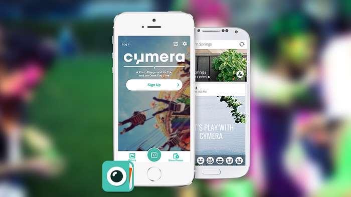 دانلود برنامه دوربین و ویرایشگر عکس قوی و کاربردی Cymera 2.6.2