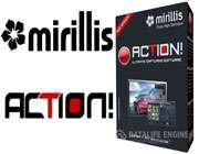 نرم افزار ضبط فیلم آموزشی از محیط ویندوز Mirillis Action 1.26.0