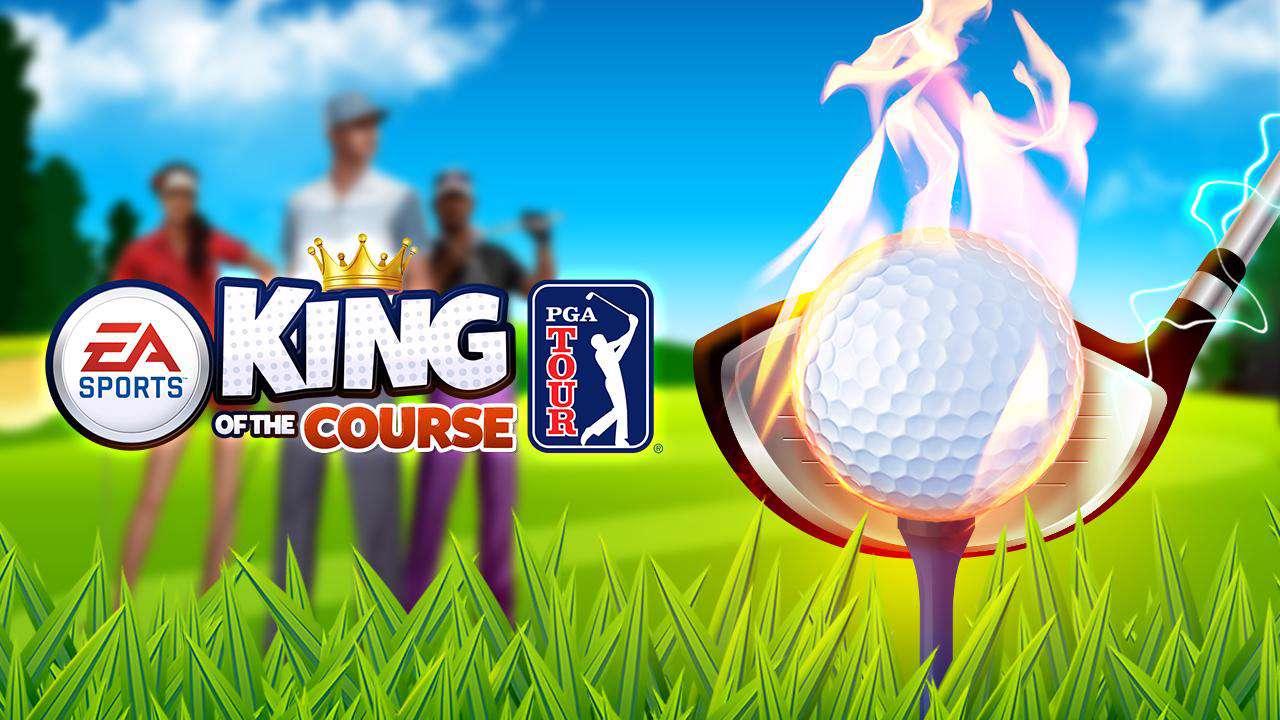 دانلود بازی جذاب گلف King of the Course Golf 2.2 برای آندروید