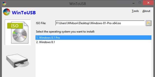 دانلود برنامه Win To USB Enterprise 3.3 نرم افزاری برای نصب ویندوز قابل حمل در فلش مموری