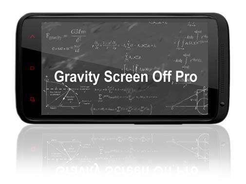 دانلود نرم افزار روشن و خاموش کردن صفحه بدون نیاز به کلید پاور Gravity Screen Pro On.Off 2.4.6.3