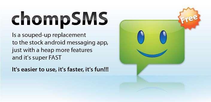 دانلود برنامه مدیریت پیامک chomp SMS 7.16 برای اندروید