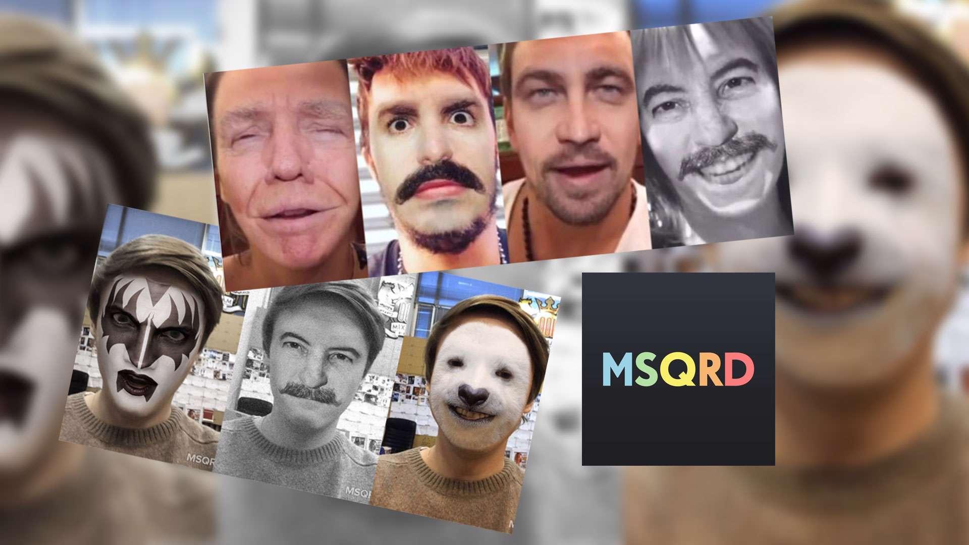 دانلود برنامه عکاسی و فیلم برداری با افکت های بسیار جالب MSQRD 1.6.4  برای آندروید