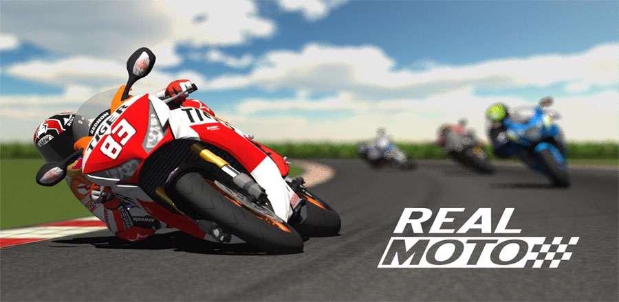 دانلود بازی جذاب موتورسواری Real Moto 1.0.154 برای اندروید