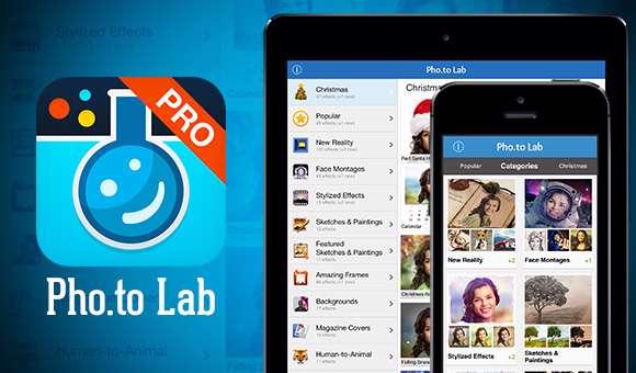دانلود بهترین برنامه ویرایشگر تصاویر Pho.to Lab PRO 2.0.380  برای اندروید