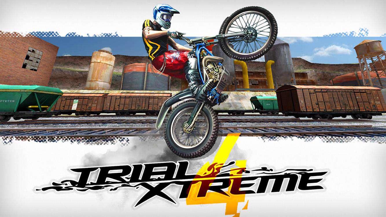 بازی مهیج موتور سواری با گرافیک عالی در اندروید، Trial Xtreme 4 1.7.5