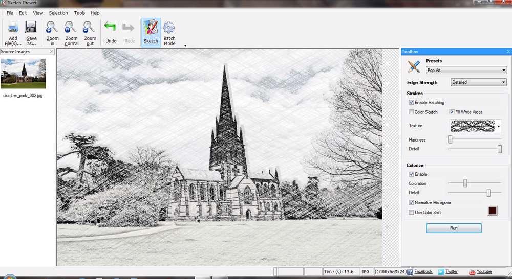 دانلود برنامه تبدیل عکس به نقاشی SoftOrbits Sketch Drawer Pro v4