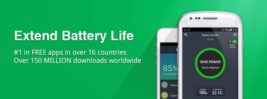 دانلود برنامه مدیریت باتری  دستگاه های اندرویدی 5.28 Battery Doctor