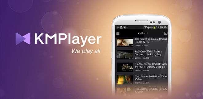 دانلود برنامه پخش فایل های تصویری KMPlayer 2.0.4 برای اندروید