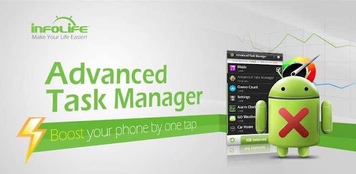 دانلود برنامه مدیریت گوشی اندروید، Advanced Task Manager Pro 6.1.8