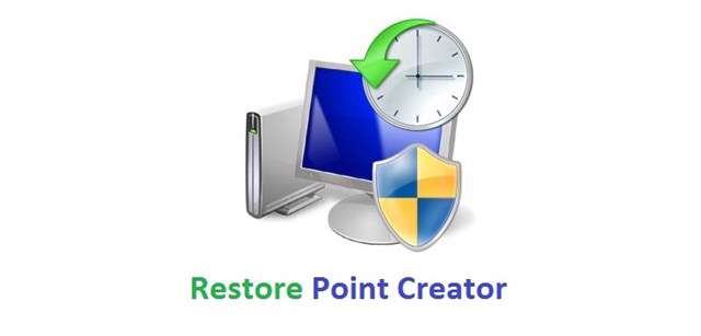 دانلود برنامه بازگردانی رایانه Restore Point Creator 4.7.1