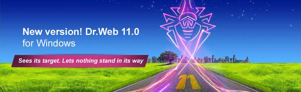 دانلود آنتی ویروس دکتر وب Dr web antivirus v 11.0.3.5270