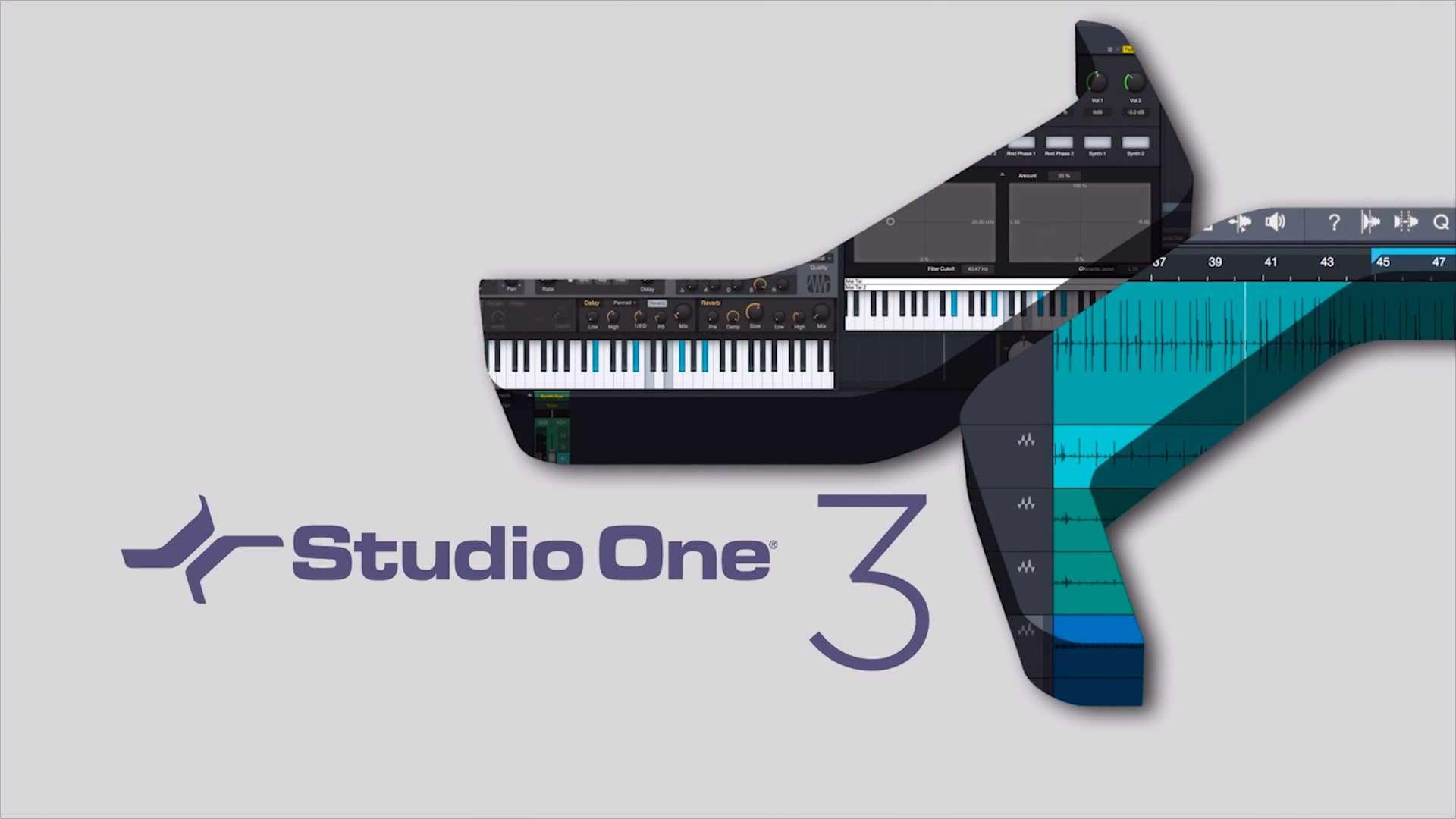 دانلود برنامه تدوین صوت به صورت حرفه ای Presonus Studio One Pro 3.2.3.38191