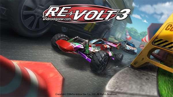 دانلود بازی متفاوت Re-Volt 3 1.3.2 برای اندروید