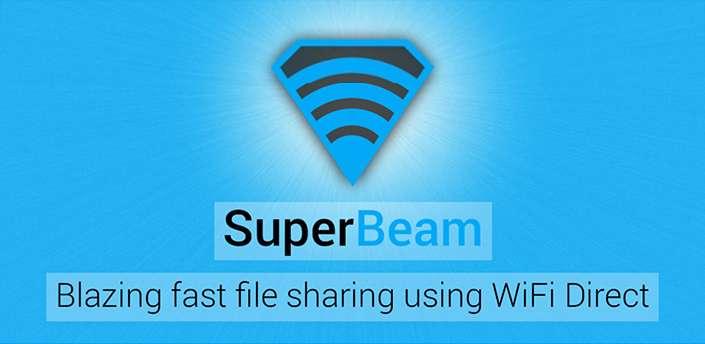 دانلود برنامه اشتراک گذاری فایل با wifi برای اندروید SuperBeam WiFi Direct Share 4.1.3