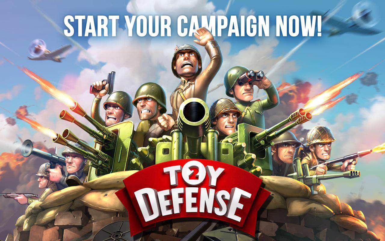 دانلود بازی جذاب و سرگرم کننده Toy Defense 2 2.10 برای اندروید