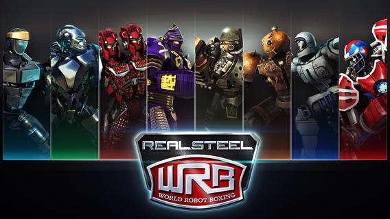 دانلود بازی زیبای Real Steel World Robot Boxing 1.35.5 برای اندروید