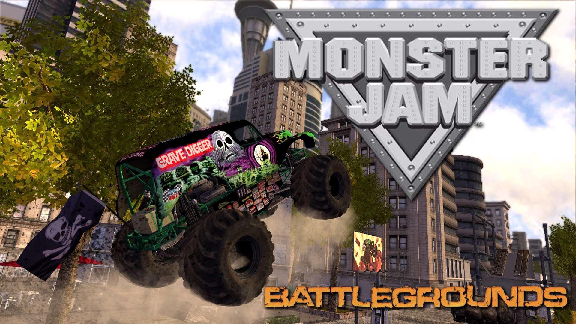 دانلود بازی Monster Jam Battlegrounds برای رایانه