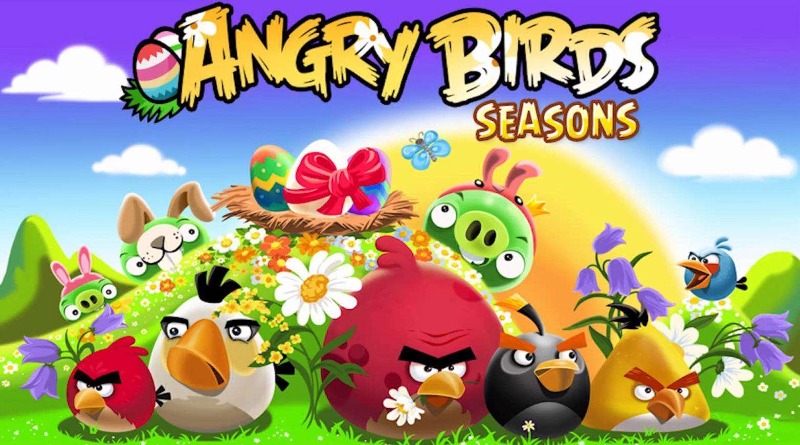 دانلود بازی محبوب و سرگرم کننده پرندگان خشمگین Angry Birds Seasons 6.3.1