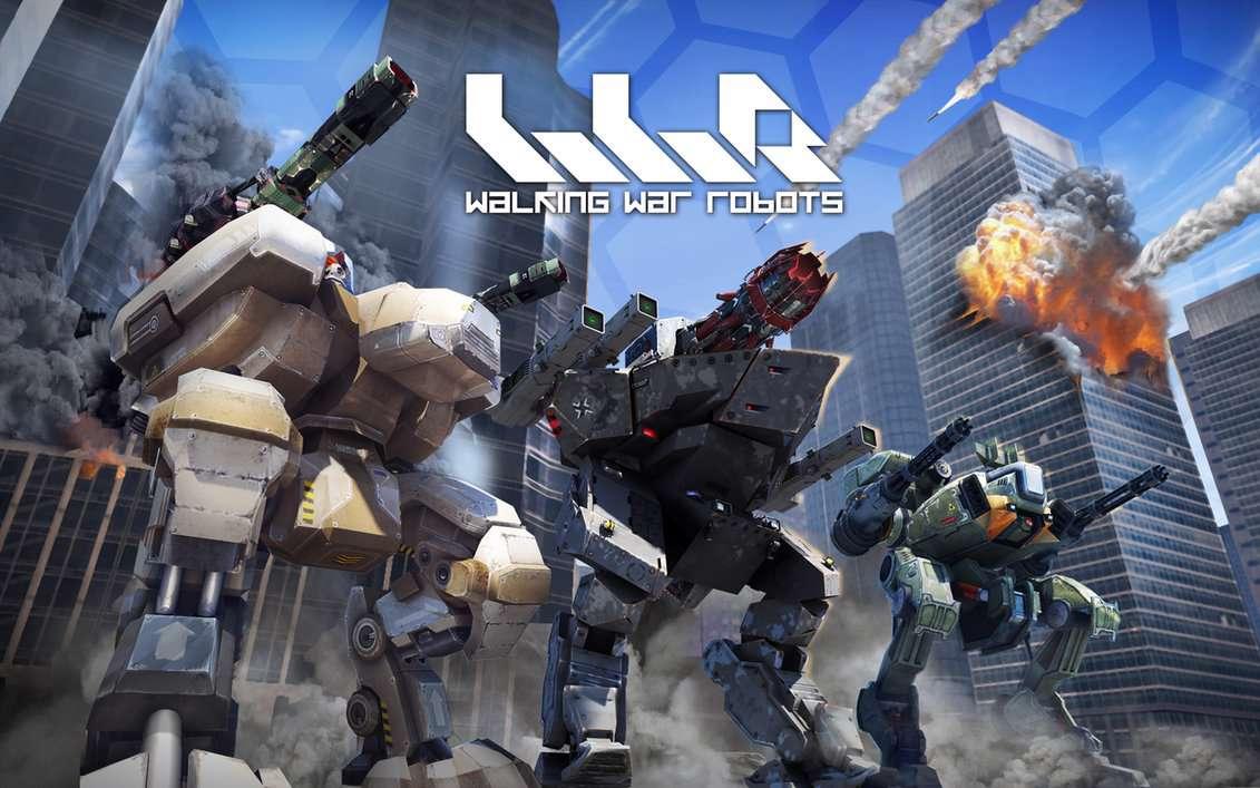 دانلود بازی اکشن و پر هیجان Walking War Robots 1.5.1 برای اندروید