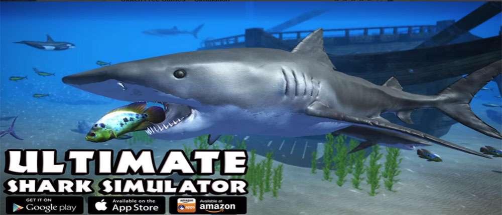 دانلود بازی شبیه ساز کوسه Ultimate Shark Simulator 1.0.3 برای اندروید
