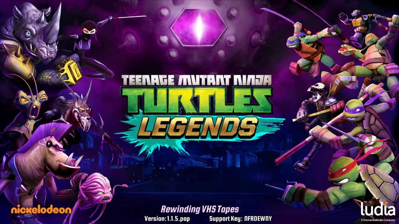 دانلود بازی خوش کیفیت و مهیج ninja turtles legends 1.2.10 برای اندروید