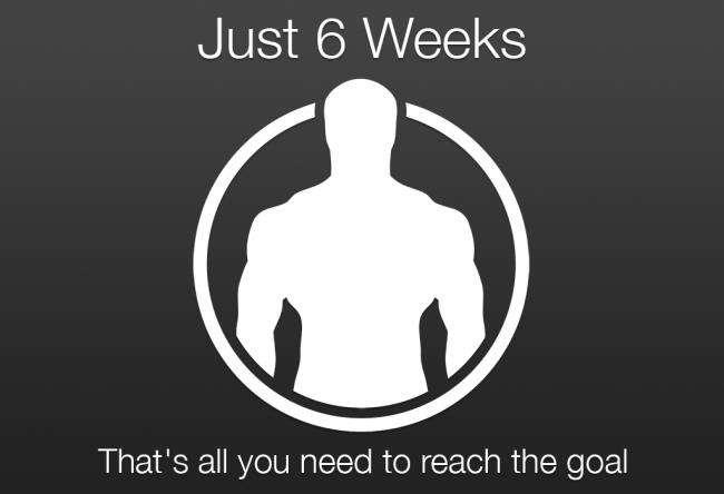 دانلود برنامه بدنسازی در 6 هفته Just 6 Weeks 2.1 برای اندروید