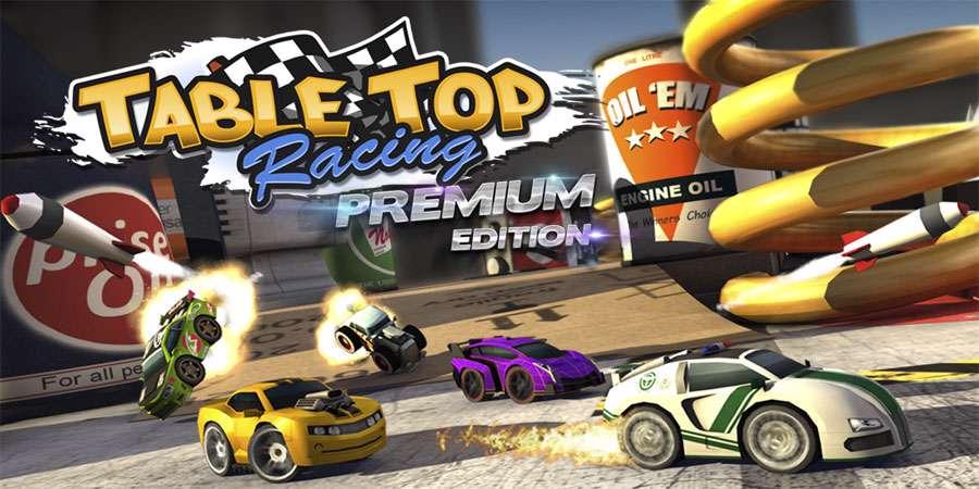 دانلود بازی ماشین سواری اسباب بازی Table Top Racing Premium 1.0.41 برای اندروید