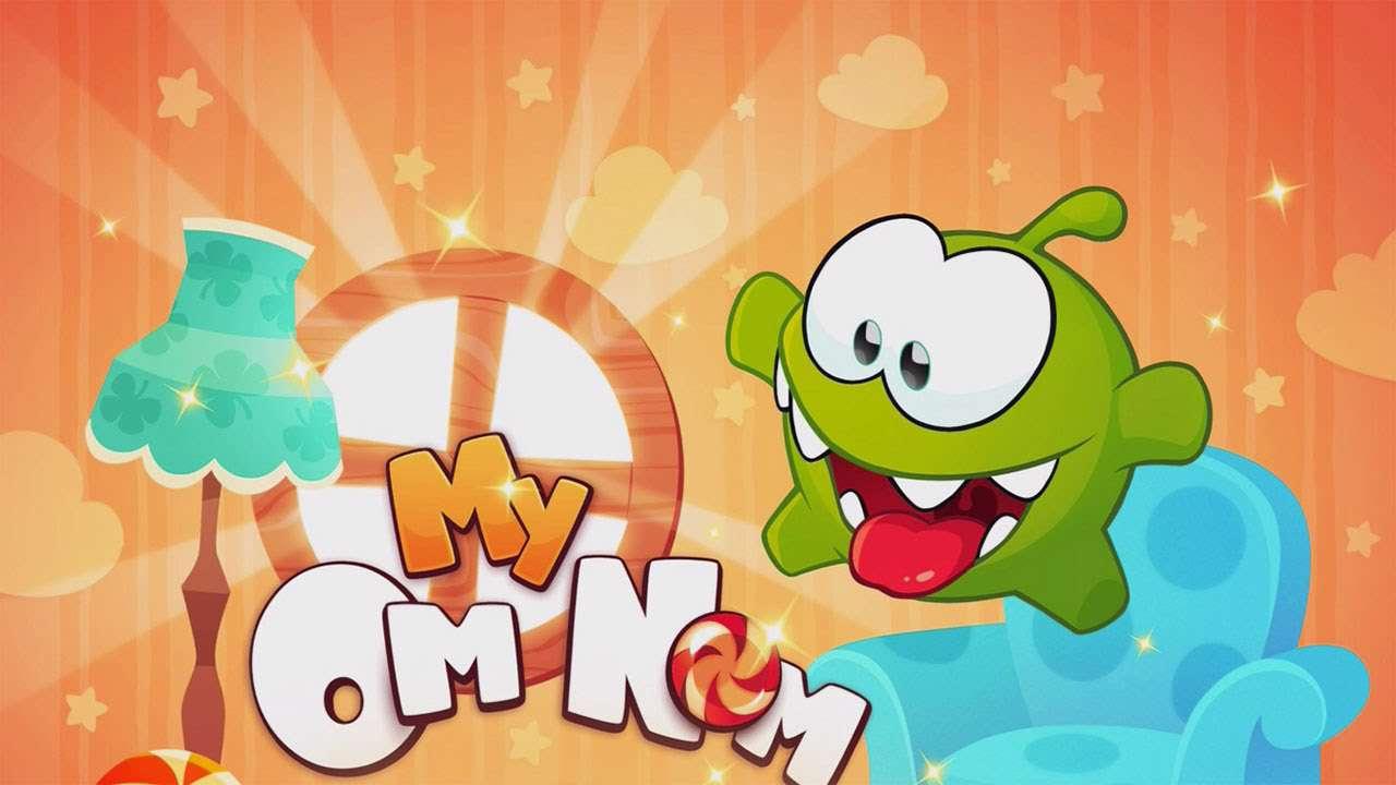 دانلود بازی کودکانه و جذاب My Om Nom 1.5.3 برای اندروید