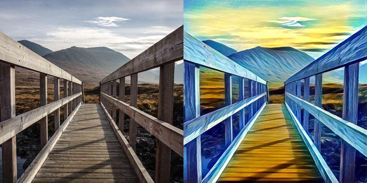 دانلود نرم افزار تبدیل عکس های شما به آثار هنری Prisma 1.1.33 برای اندروید