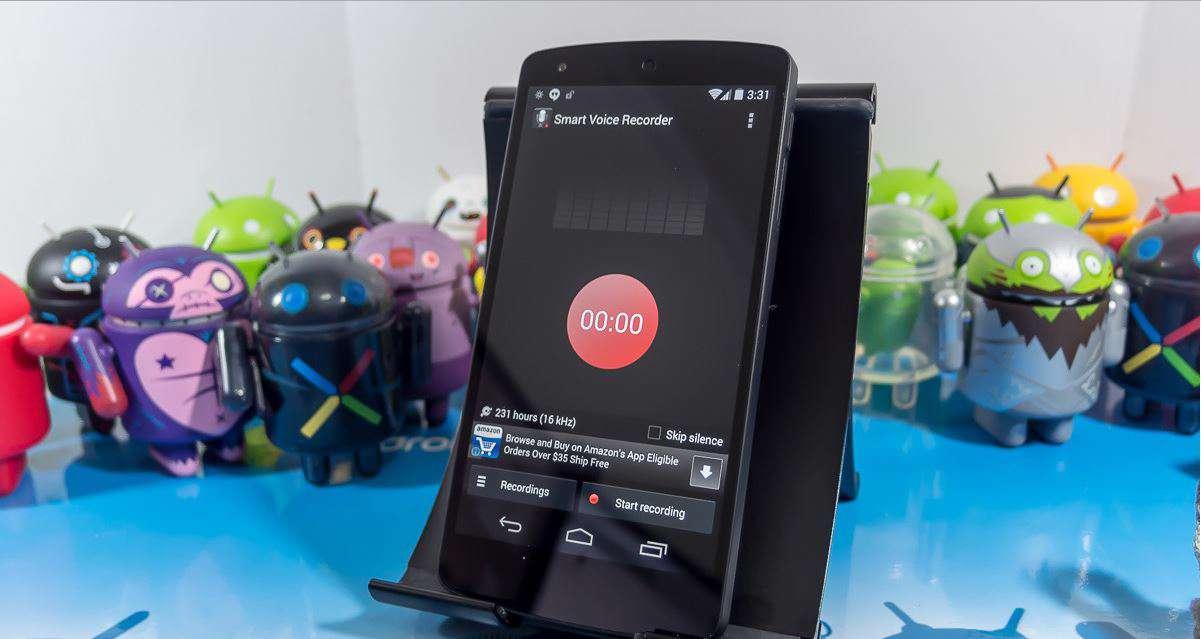 دانلود نرم افزار ضبط صدا هوشمند Smart Voice Recorder 1.7.1 برای اندروید
