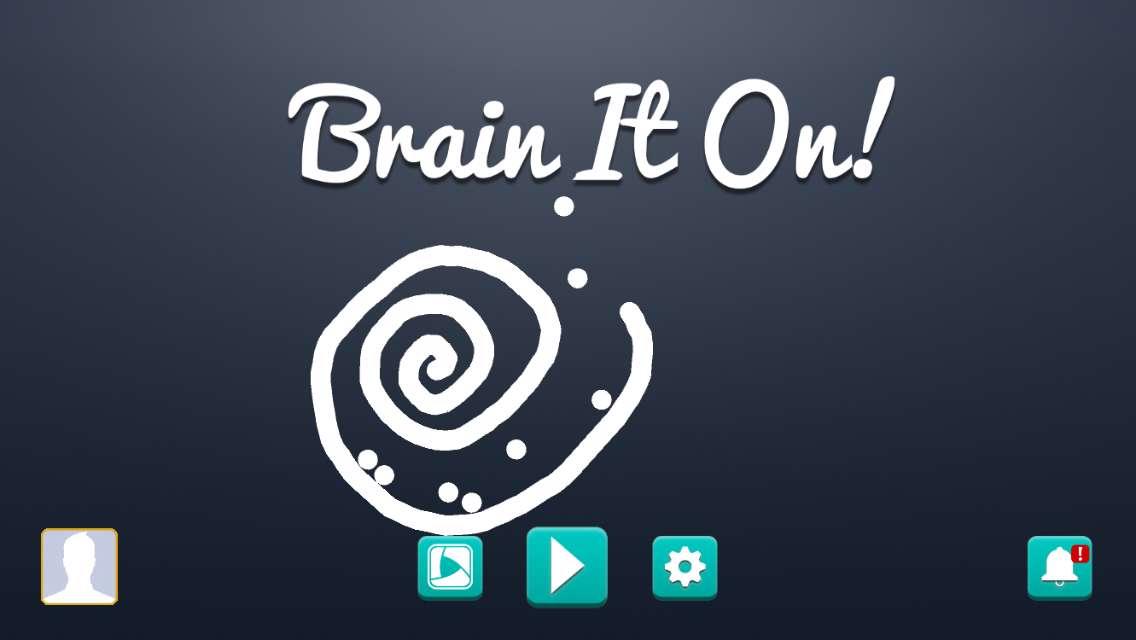 دانلود بازی فکری و فوق العاده جذاب Brain It On 1.0.98 برای اندروید