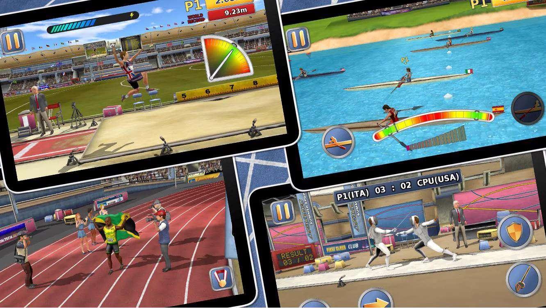 دانلود بازی بازی های المپیک تابستانی  Athletics 2 Summer Sports 1.5 برای اندروید