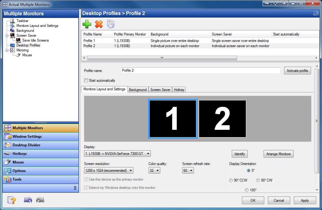 دانلود نرم افزار کاربردی ایجاد چند دسکتاپ مجازی Actual Virtual Desktops 8.8.2 برای اندروید