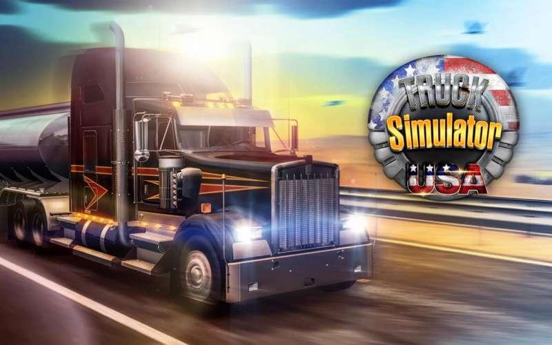 دانلود بازی کامیون سواری Truck Simulator USA 1.8.0 بری اندروید