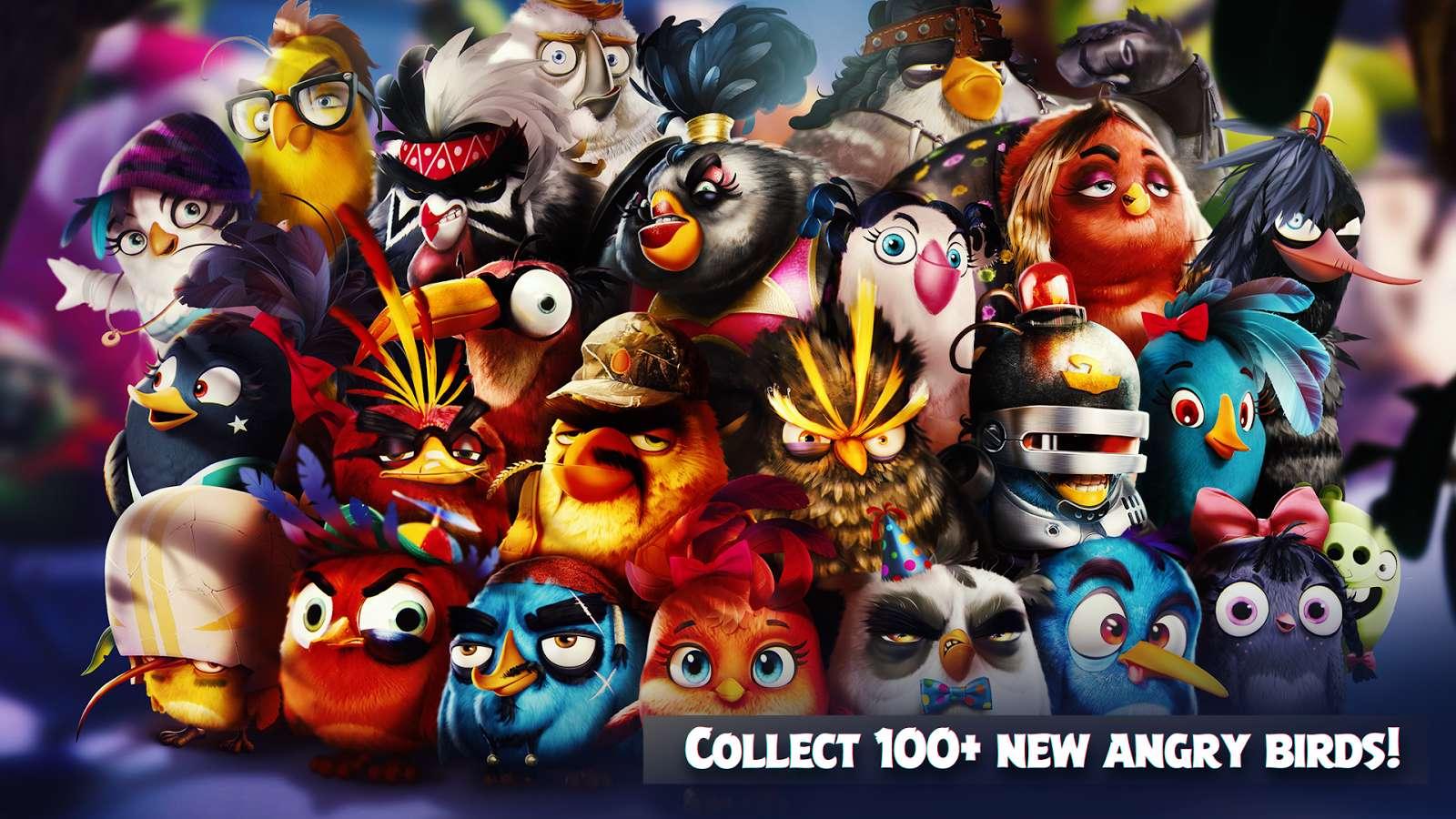 دانلود بازی جدید و متفاوت Angry Birds Evolution 1.5.0 برای اندروید