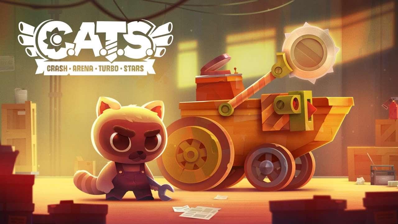 دانلود بازی جذاب و خوش ساخت 2.1 Cats : Crash Arena Turbo Stars برای اندروید