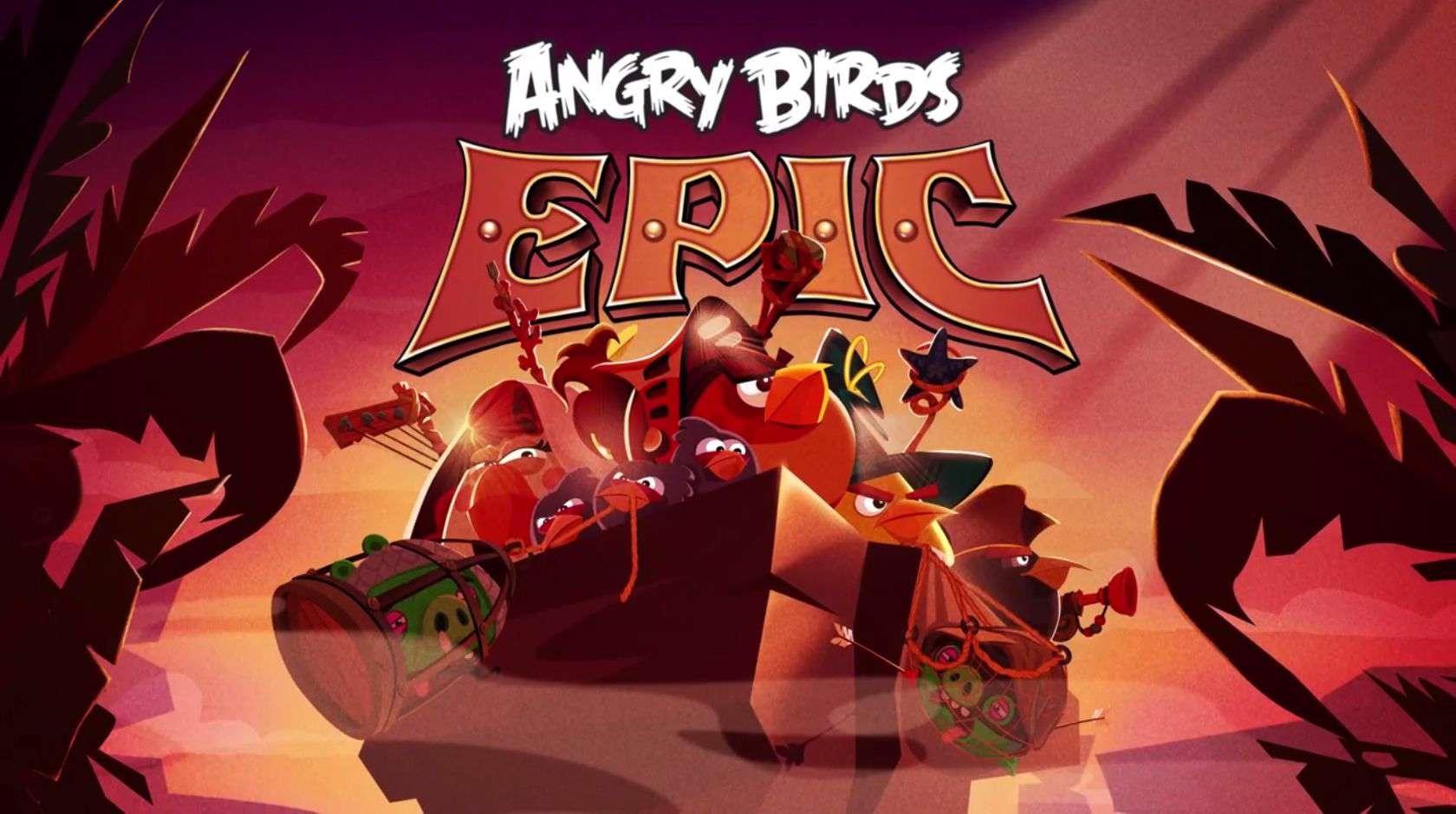 دانلود بازی جذاب و آنلاین  Angry Birds Epic 2.2.26541.4349 برای اندروید