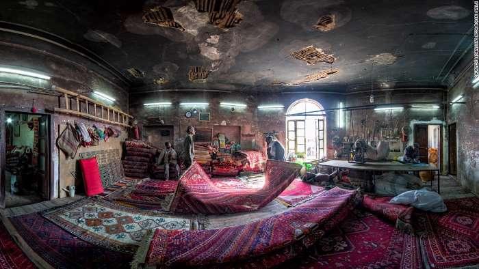 تصاویر متقارن خیرهکننده از مساجد ایرانی