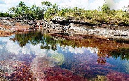 تصاویر دیدنی زیباترین رودخانه جهان