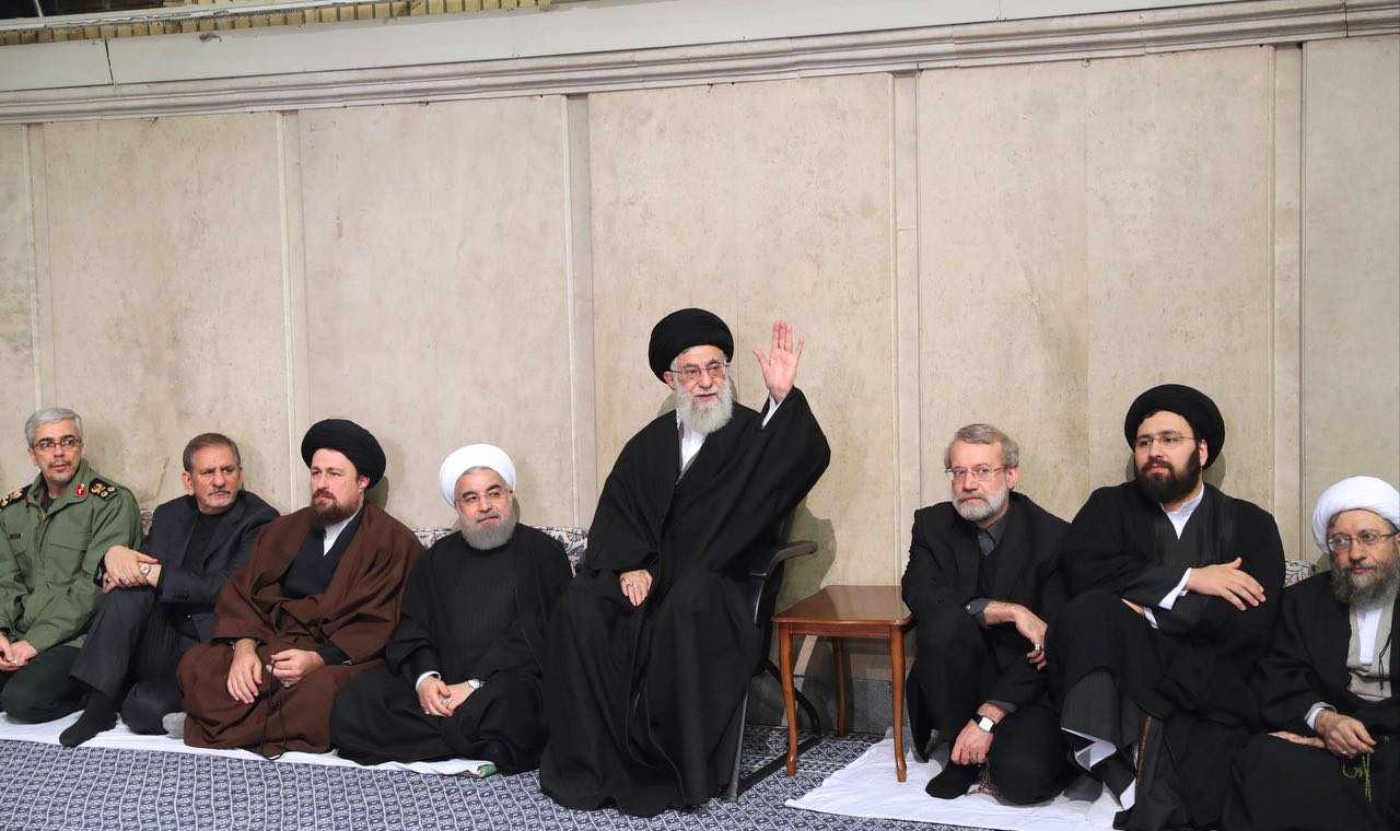 حسینیه, امام خمینی, مراسم, بزرگداشت, ختم, هاشمی رفسنجانی, رهبر ,رهبری انقلاب