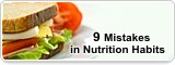 9Mistakes in Nutrition Habits