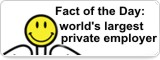 Fact of the Day: world's largest private employer