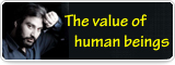 The value of human beings