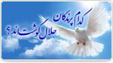 کدام پرندگان حلال گوشتاند؟