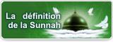 La définition de la Sunnah