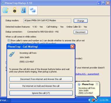PhoneTray DialUp 2.28