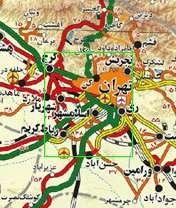 نقشه راه های ایران برای موبایل با فرمت جاوا